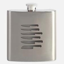 Kitchen Knives Flask