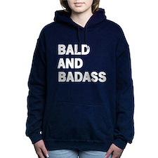 Bald and Badass Women's Hooded Sweatshirt