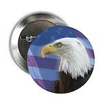 U.S. Patriotic Button