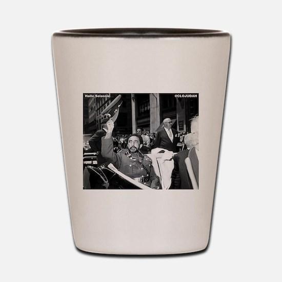 Selassie NY Parade Shot Glass