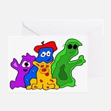 Germ Family Photo Greeting Cards (Pk of 10)