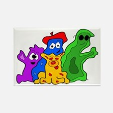 Germ Family Photo Rectangle Magnet