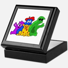 Germ Family Photo Keepsake Box
