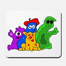 Germ Family Photo Mousepad