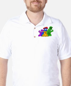 Germ Family Photo Golf Shirt