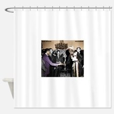 Selassie Meeting Shower Curtain