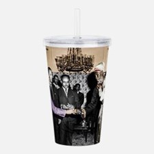 Selassie Meeting Acrylic Double-wall Tumbler