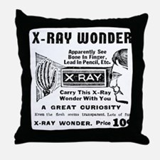 X-Ray Wonder Throw Pillow