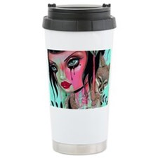 Raining PInk 2 Travel Mug