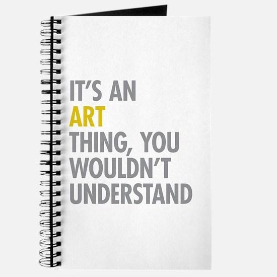 Its An Art Thing Journal