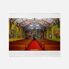 Ethiopian Orthodox Church Throw Blanket
