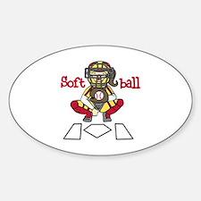 Catch Softball Decal