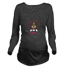 No Place Like Home Long Sleeve Maternity T-Shirt