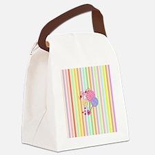 Lollipop Love Canvas Lunch Bag