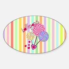 Lollipop Love Decal