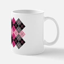Argyle Design Mug