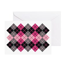 Argyle Design Greeting Card