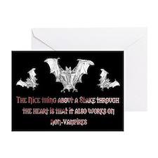 Non-Vampires Greeting Cards (Pk of 10)