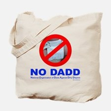 NO DADD Tote Bag. Stuff it with diapers for him!