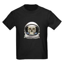 Space Helmet Astronaut Skull T-Shirt