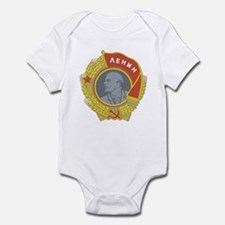 V Lenin Infant Bodysuit