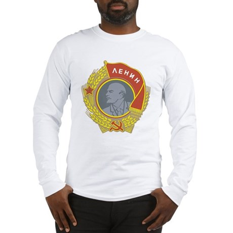 V Lenin Long Sleeve T-Shirt