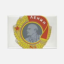 V Lenin Rectangle Magnet