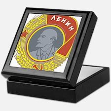 V Lenin Keepsake Box