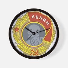 V Lenin Wall Clock
