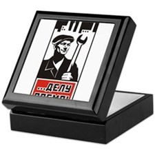 Workers Unite! Keepsake Box