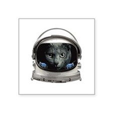 Space Helmet Astronaut Cat Sticker