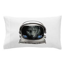 Space Helmet Astronaut Cat Pillow Case