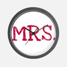 MRS. Wall Clock