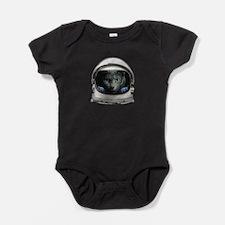 Space Helmet Astronaut Cat Baby Bodysuit