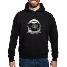 Space Helmet Astronaut Cat Hoodie