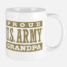 Proud U.S. Army Grandpa Small Small Mug