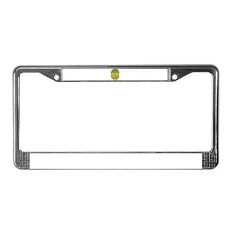 Vermont State Police License Plate Frame