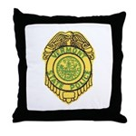 Vermont State Police Throw Pillow