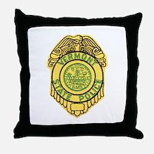 Vermont State Police Throw Pillow