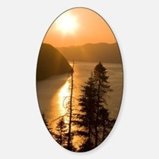 View of the Saguenay Fjord from Cap Decal