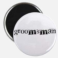 """Groomsman 2.25"""" Magnet (10 pack)"""