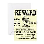 Big Nose Kate Greeting Cards (Pk of 10)