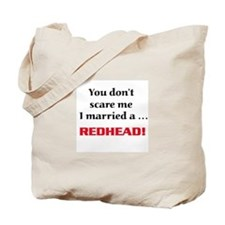 Unique Red hair Tote Bag