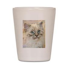 Ragamuffin Cat Shot Glass