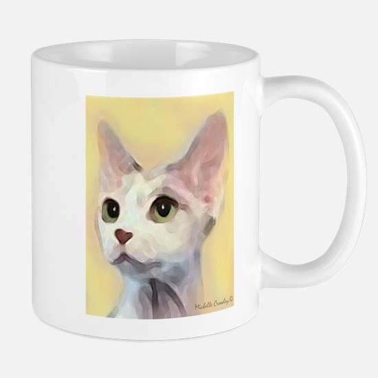 Devon Rex Cat Mugs
