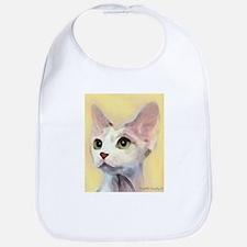Devon Rex Cat Bib