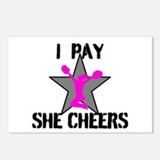 I Pay She Cheers Postcards (Package of 8)