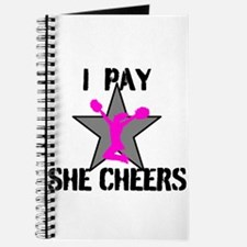 I Pay She Cheers Journal