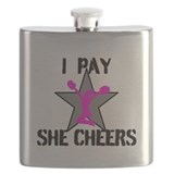 Cheerleading Flask Bottles