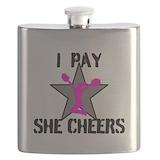 Cheerleading Flasks